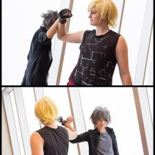 Noctis and Prompto