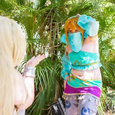 Great Fairy Cotera and Gerudo Link